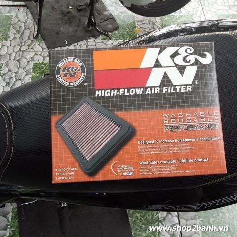 Lọc gió K&N YA-1515 cho Exciter 150