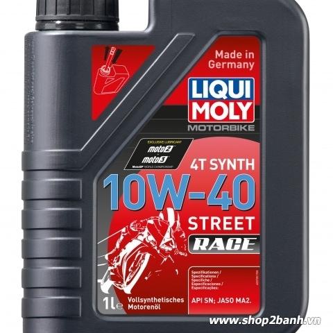 Nhớt Liqui Moly 4T Synth 10W40 Street Race