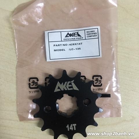 Nhông Akei 14T mới chính hãng cho Exciter