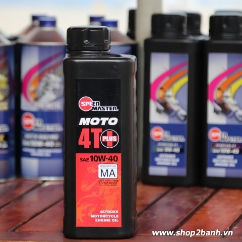 Nhớt Speed Master Moto 4T Plus 10W40