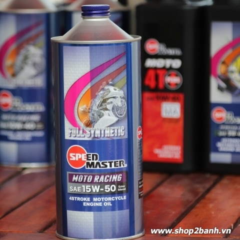 Nhớt Speed Master Moto Racing 15W50
