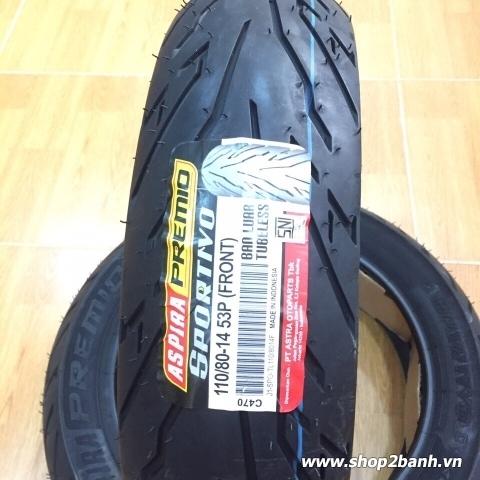 Vỏ xe Aspira Sportivo 110/80-14