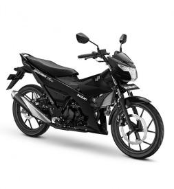 Xe Suzuki Satria F150 Đen nhám nhập khẩu Indo 2020