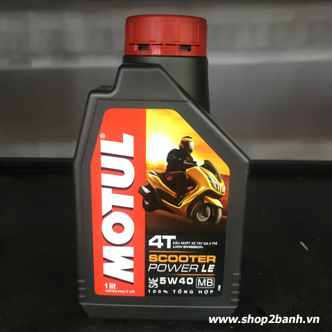 Motul Scooter Power LE 5W40 1L
