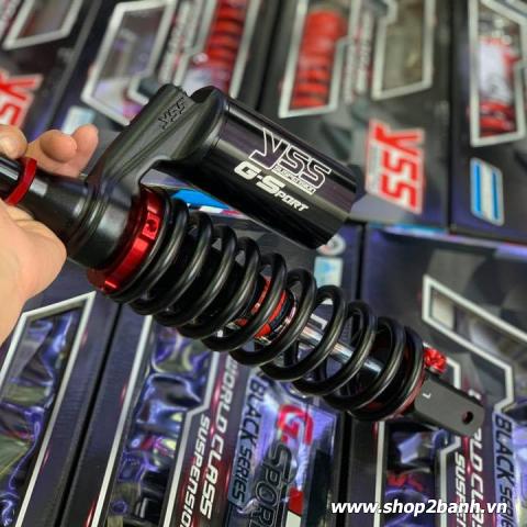 Phuộc YSS G-Sport (chính hãng) dòng Black Series cho Vario, Click