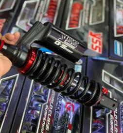 Phuộc YSS G-Sport dòng Black Series cho Vario, Click