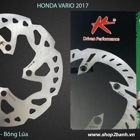 Đĩa thắng K-Driven Bông Lúa (chính hãng) cho Vario, Click (mẫu cũ)