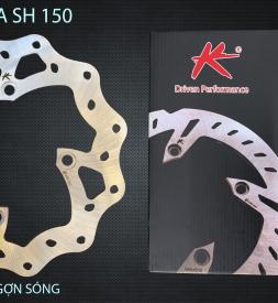 Đĩa thắng K-Driven Gợn Sóng (chính hãng) cho SH 125/150