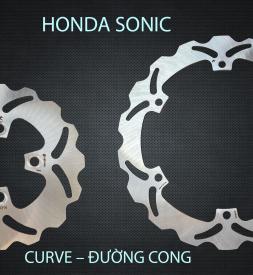Đĩa thắng sau K-Driven Đường Cong (chính hãng) cho Sonic