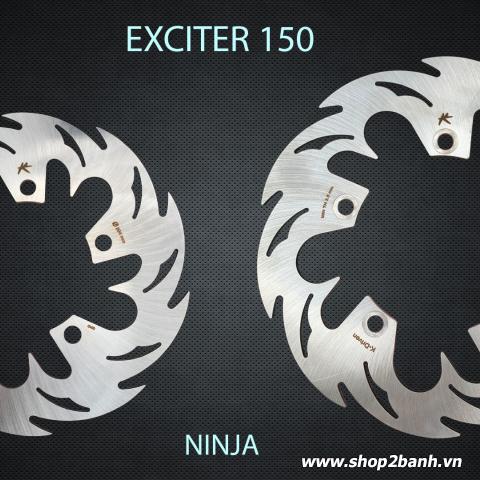 Đĩa thắng sau K-Driven Ninja (chính hãng) cho Exciter 150