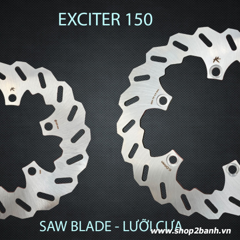 Đĩa thắng trước K-Driven Lưỡi Cưa (chính hãng) cho Exciter 150