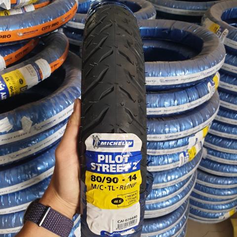 Vỏ Michelin 80/90-14 Pilot Street 2