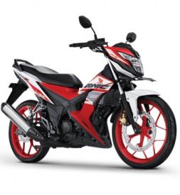 Xe Honda Sonic 150R 2020 trắng mâm đỏ nhập khẩu Indo