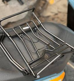 Baga inox 10ly sơn đen tĩnh điện cho AB