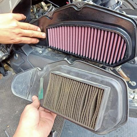 Lọc gió DNA (chính hãng) dành cho Honda Air Blade 125, Click, Vario, PCX, SH Mode