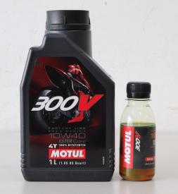 Nhớt chiết lẻ Motul 300V Factory Line 10W40 (100ml)