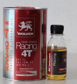 Nhớt chiết lẻ Wolver Racing Synthetic 10W40 (100ml)