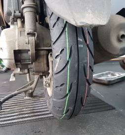 Vỏ Dunlop D307 100/90-10