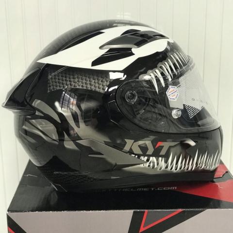 Nón bảo hiểm fullface KYT Falcon Venom chính hãng