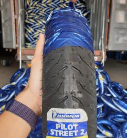 Vỏ Michelin 90/80-17 Pilot Street 2