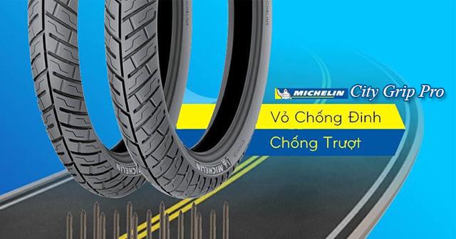 Vỏ Michelin City Grip Pro có tốt không? Dùng cho xe nào phù hợp?