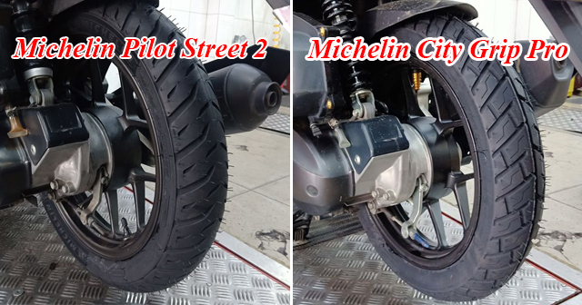 Vỏ Michelin Pilot Street 2 và City Grip Pro khác nhau như thế nào?