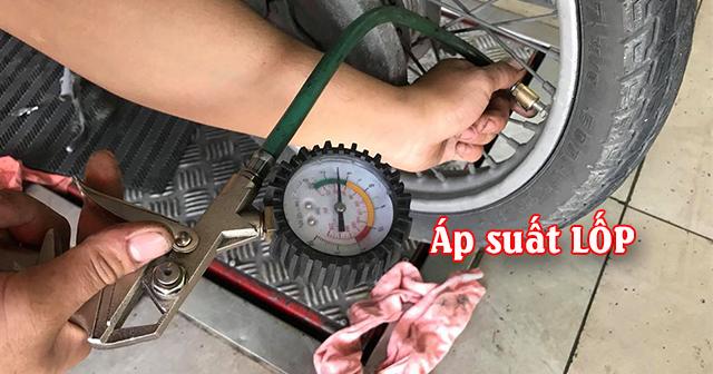 Bảng áp suất lốp cho từng loại xe máy mới nhất hiện nay