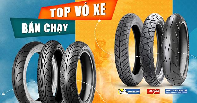 Top 8 thương hiệu lốp xe máy chất lượng tốt nhất hiện nay