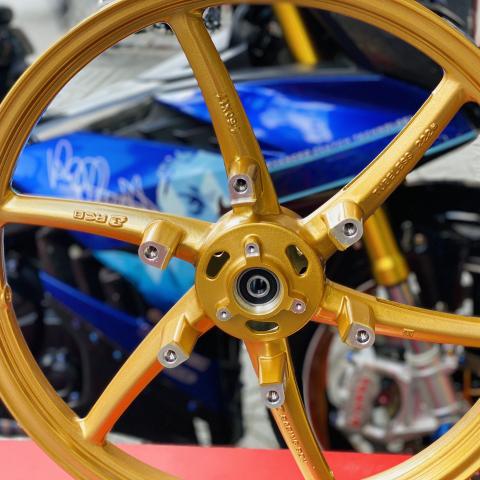 Mâm RCB 6 cây chính hãng bản 1.6 cho Honda Winner
