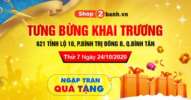 Khai trương cửa hàng phụ tùng và đồ chơi xe máy Quận Bình Tân giá tốt nhất