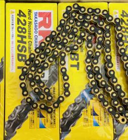 Sên RK vàng đen 428HSBT - 124L chính hãng