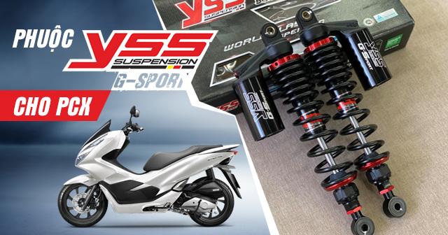Tư vấn lên phuộc YSS G-Sport cho PCX có tốt không?