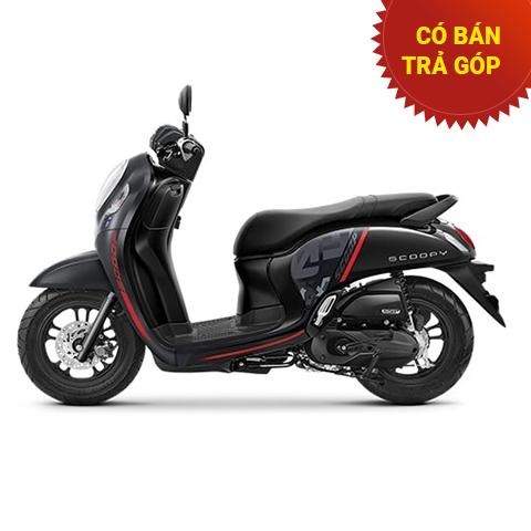Xe Honda Scoopy Không Smartkey Đen Sporty 2021 nhập khẩu Indo