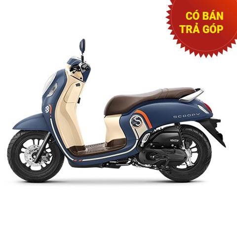 Xe Honda Scoopy không Smartkey Xanh 2021 nhập khẩu Indo