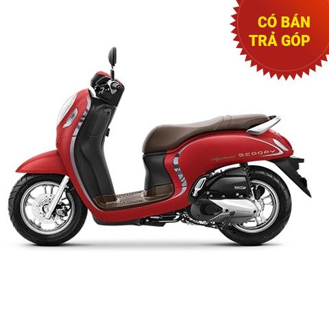 Xe Honda Scoopy Smartkey Đỏ 2021 nhập khẩu Indo