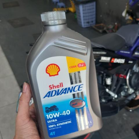 Shell Advance Ultra 10W40 1L