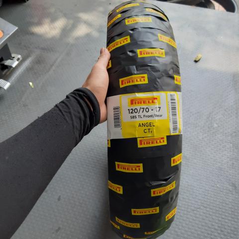 Vỏ Pirelli 120/70-17 Angel City