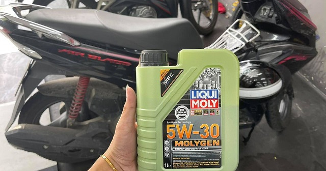Nhớt Liqui Moly Molygen 5W30 có tốt không? Vario, SH, AB thay có phù hợp?