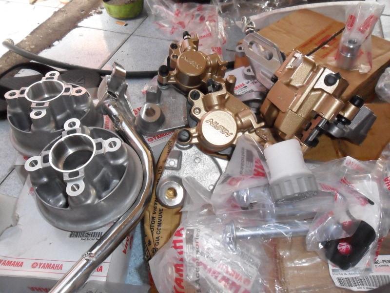 Phụ tùng xe máy Yamaha chính hãng giá tốt   Shop2banh.vn
